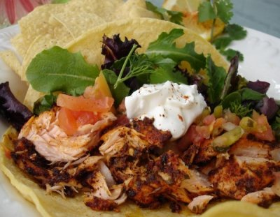 Blackened Atlantic Salmon Taco