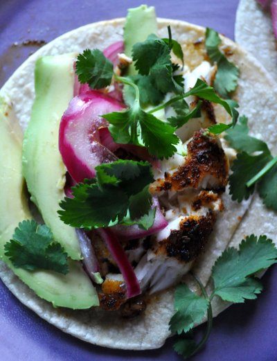 Regal Springs Blackened Tilapia Taco