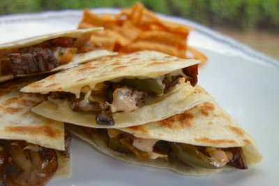 Chipotle Ranch- quesdailla