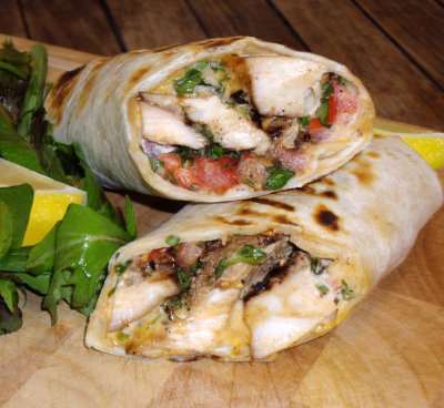 Grilled Chicken Go Wrap