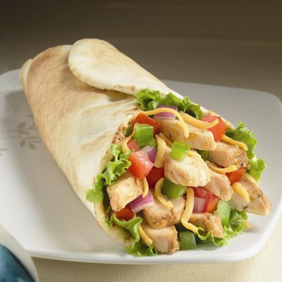 Napa Chicken with Avocado Wrap