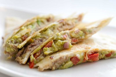 Pork- quesdailla