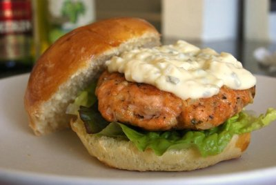 Seasoned Turkey Burger, w/out mayo