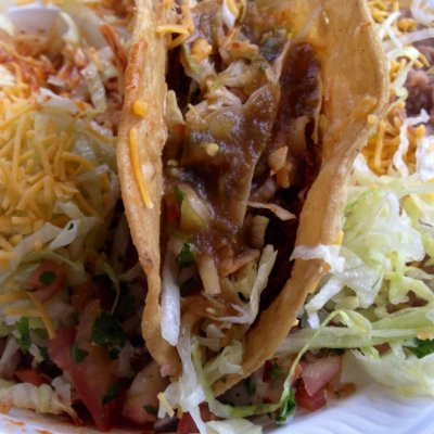Shredded Beef Crispy Taco