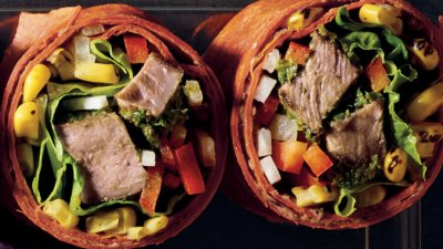 Southwest-Style Steak Wrap