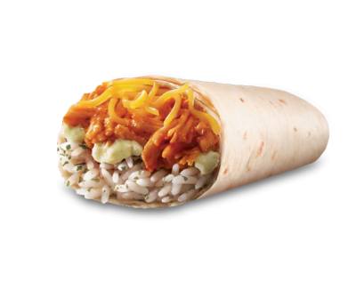 Shredded Chicken Burrito