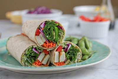 Wrap, Spinach