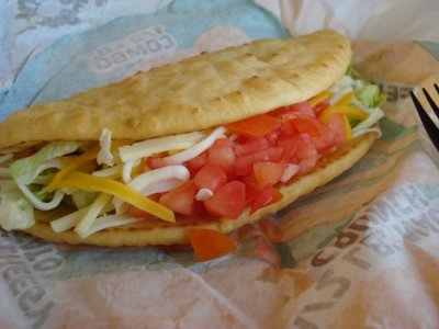 Chalupa Supreme - Chicken