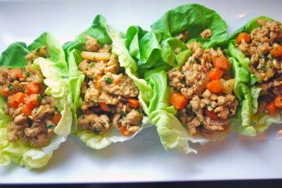 Mini Wraps, Thai-Style Chicken & Sweet Chili