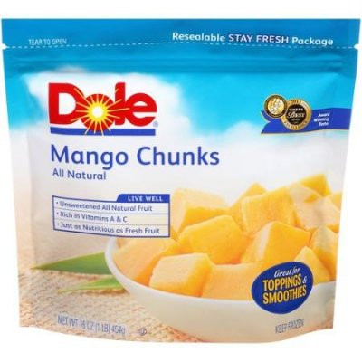 Mango, Chunks All Natural