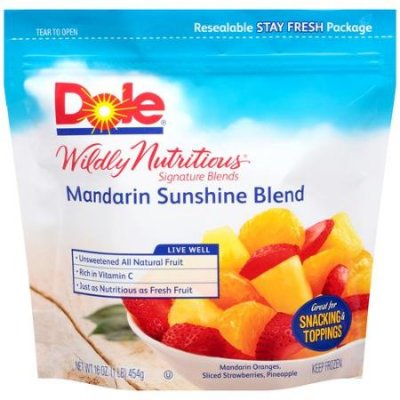 Wildly Natritious, Mandarin Sunshine Blend