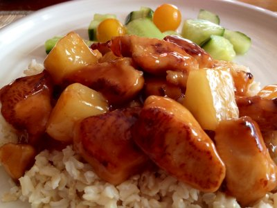 Sweet & Sour Chicken Breast