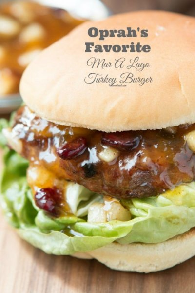 Teriyaki Turkey Burger