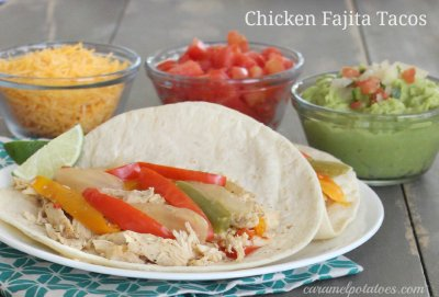 Chicken Fajita Taco