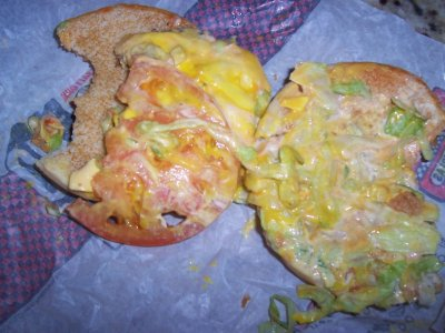 Checkerburger with Cheese