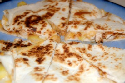 Quesadilla, Grilled Chicken