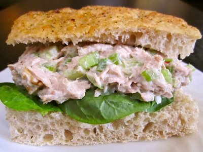 Tuna Salad Sandwich, Choose 2
