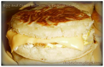 DD Smart, Egg and Cheese English Muffin