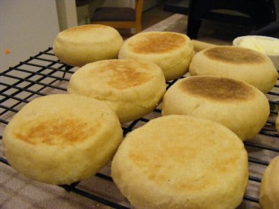 English Muffin, with Butter