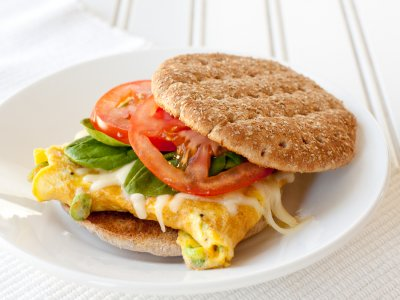 Egg & Cheddar Breakfast Sandwich