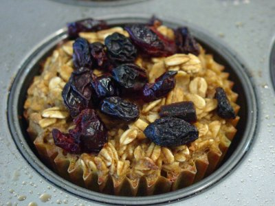 Oatmeal, Original with Dried Fruit Topping