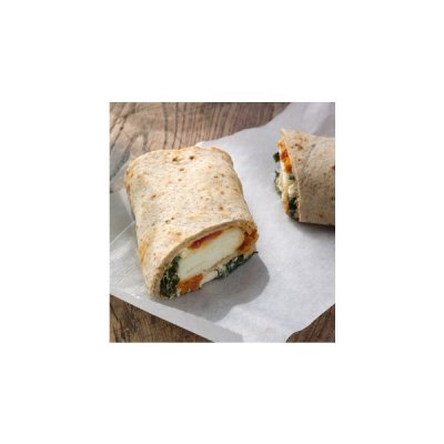 Spinach, Feta & Cage Free Egg White Breaskfast Wrap