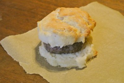 Sausage and Biscuit