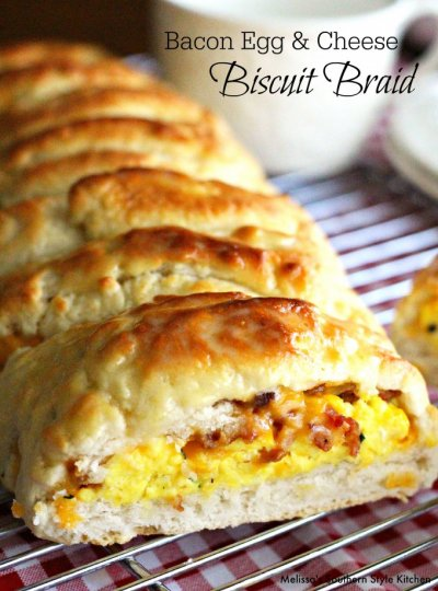 Biscuit Taco - Egg & Cheese