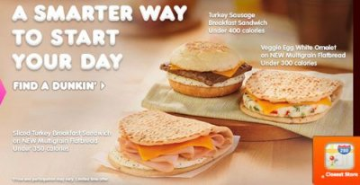 DD Smart, Sliced Turkey Breakfast Sandwich