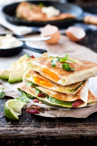 Bacon & Egg Quesadilla
