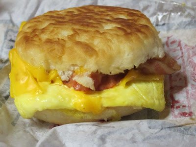Biscuit Taco - Bacon, Egg & Cheese