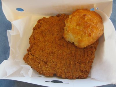 Country Fried Steak Biscuit