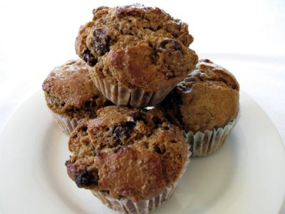 Muffin, Honey Bran Raisin