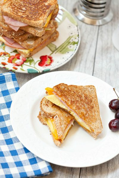 Sourdough Breakfast Sandwich, Ham