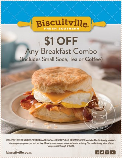 Country Ham and Egg Biscuit