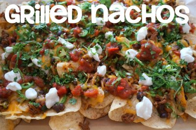 Grilled Peppers- Nachos