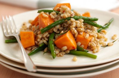 Pearl Barley with Vegetables
