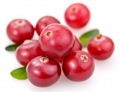 Cranberries, raw