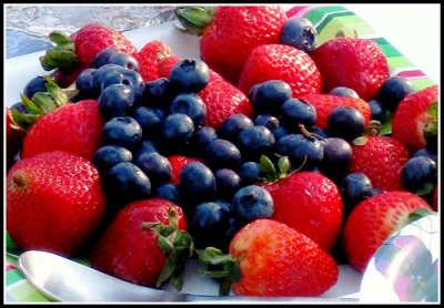 Strawberries and Blueberries Mix