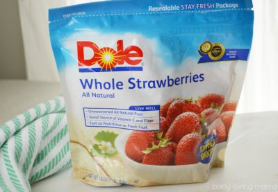 Strawberries,Whole Unsweetened Freshly Frozen