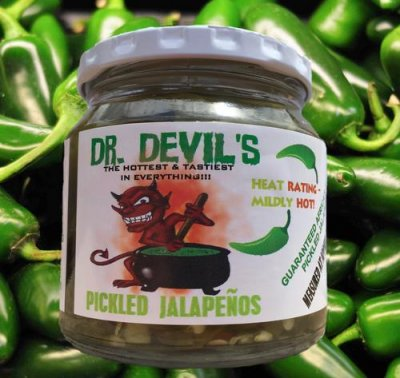 Pickled Jalapenos- Nachos