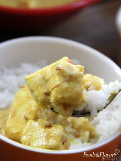 Shahi Paneer (Indian Curry)