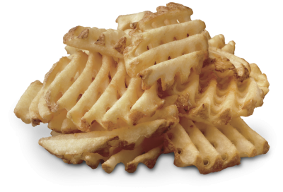 Waffle Potato Fries, large