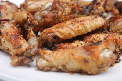 Baked Hot Wings (2 Pieces)
