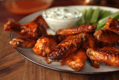 Baked Mild Wings (2 pieces)