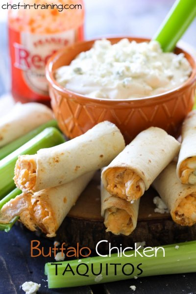 Buffalo Chicken Taquito