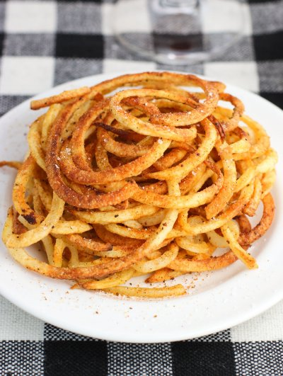 Seasoned Curly Fries, Small