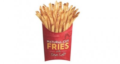 Small Natural Cut Fries