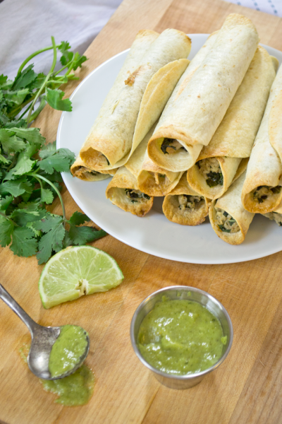 Jalapeno Cream Cheese Taquito