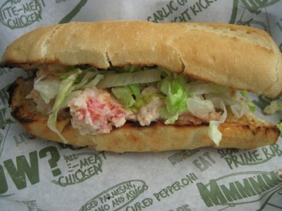 Subway Seafood Sensation